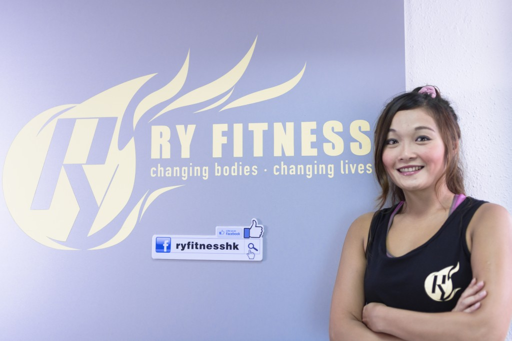 專業女健身教練
