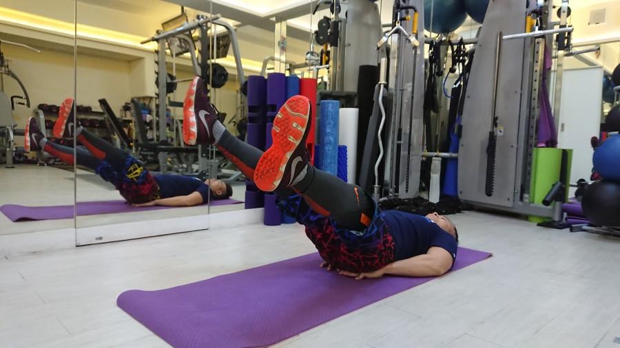 下腹部訓練動作-3