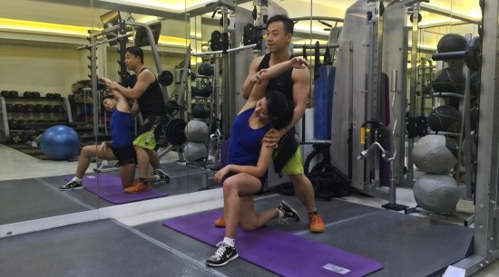 強化腰部運動